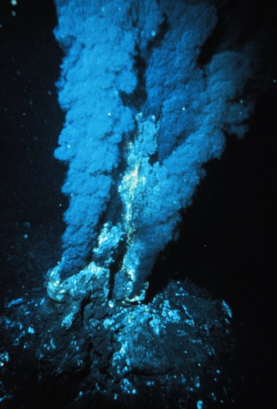 Deep-sea hydrothermal vents - click for larger version